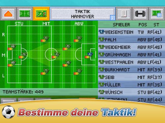 Fussball Pocket Manager - Liga Pokal Kicker 2017 Screenshot