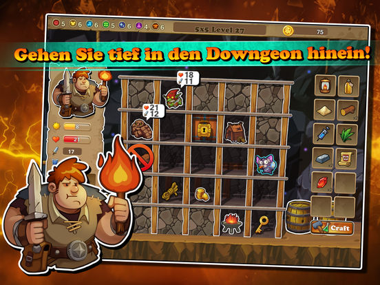 Downgeon Quest iOS