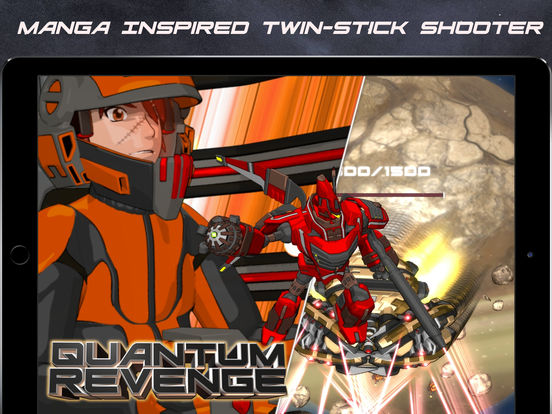 Quantum Revenge iOS Screenshots