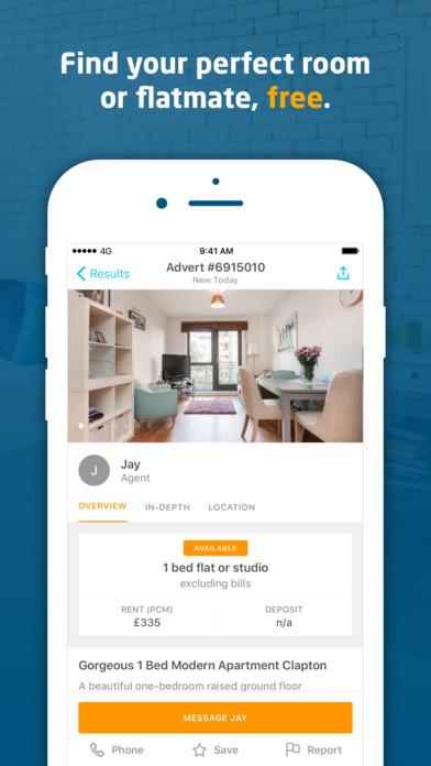download SpareRoom - Rooms for Rent & Flatmate Finder appstore review