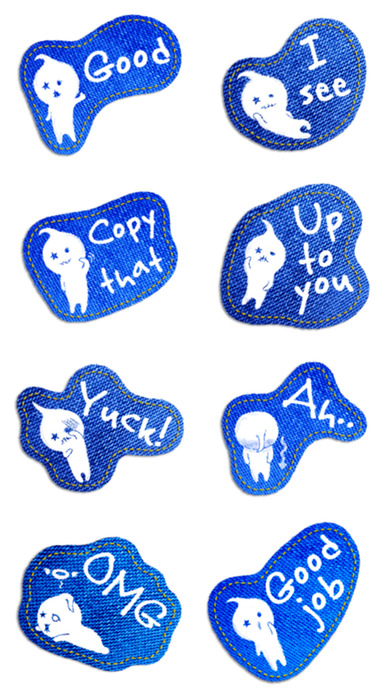 download Talking Jeans Stickers! apps 4