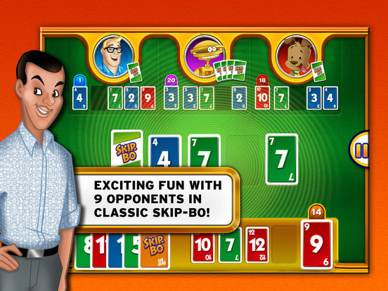 Skip-Bo™ Pro - The Classic Family Card Game Screenshots