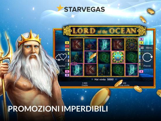 StarVegas - Il vero casinò online Screenshot