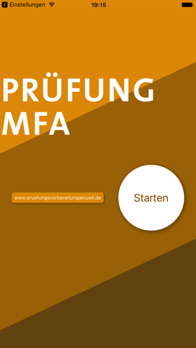 Screenshot for Prüfung MFA in Germany App Store