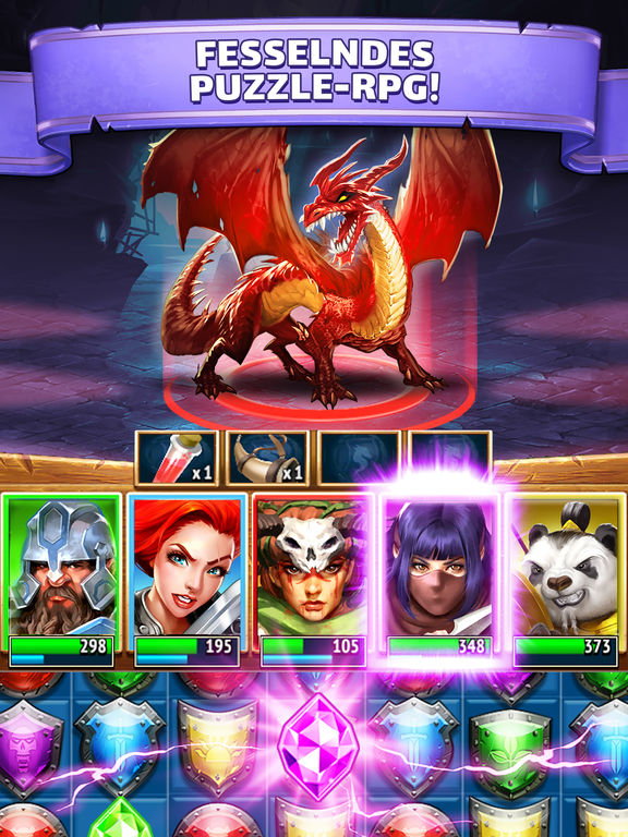 Screenshot 1 Empires & Puzzles: RPG Quest