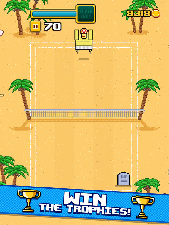 Screenshot 4 Timber Tennis