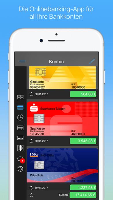 finanzblick: Onlinebanking für Konto & Überweisung Screenshot