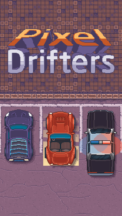Pixel Drifters iOS Screenshots
