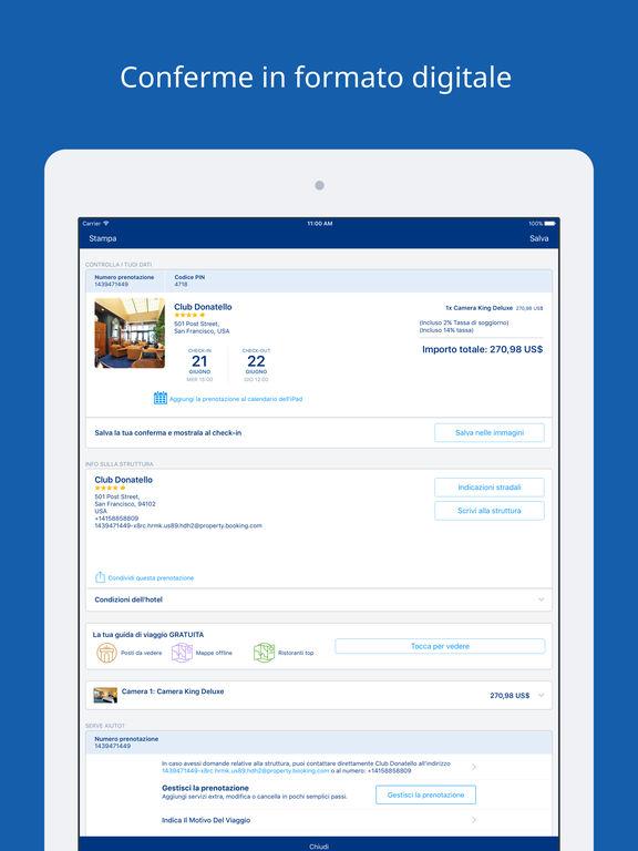 Prenotazioni hotel e offerte sull 39 app store for E booking hotel