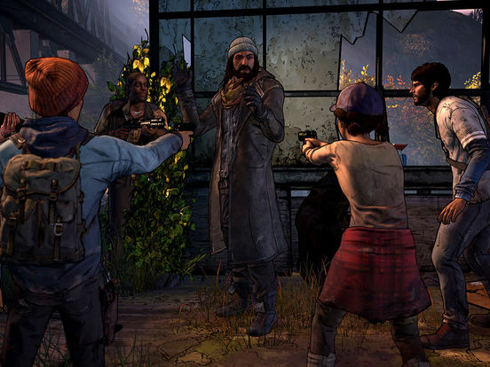 Screenshot 3 The Walking Dead: A New Frontier