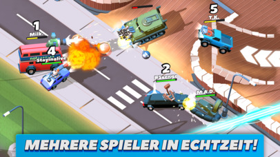 Crash of Cars iOS Screenshots