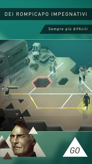 Deus Ex GO - Sfida di rompicapo Screenshot