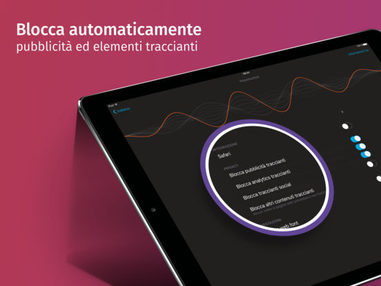 Firefox Focus: il browser per la privacy Screenshot