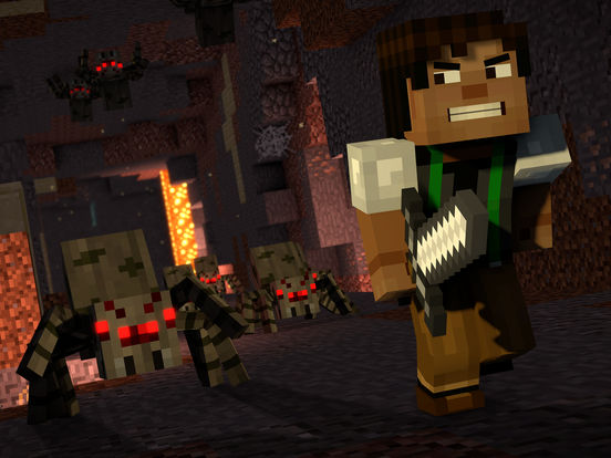 Screenshot 1 Minecraft: Story Mode - S2