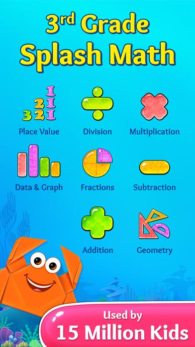 download 3rd Grade Math - Summer Kids Multiplication Games appstore review
