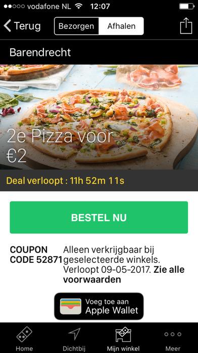 Dominos coupons 2019 belgie