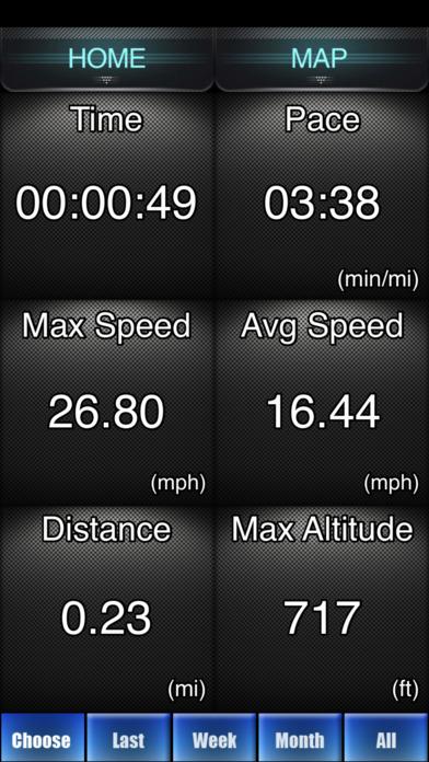 Bike Ride Tracker - GPS Bicycle Computer app: insight ...