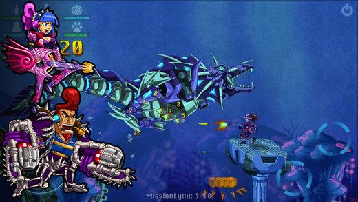Armor Riders Screenshot