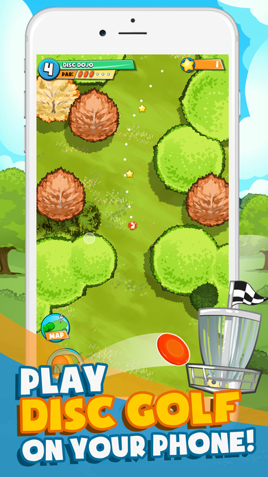 Disc Golf To Go iOS Screenshots