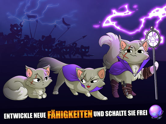 Screenshot 2 Castle Cats: Epic Story Quests
