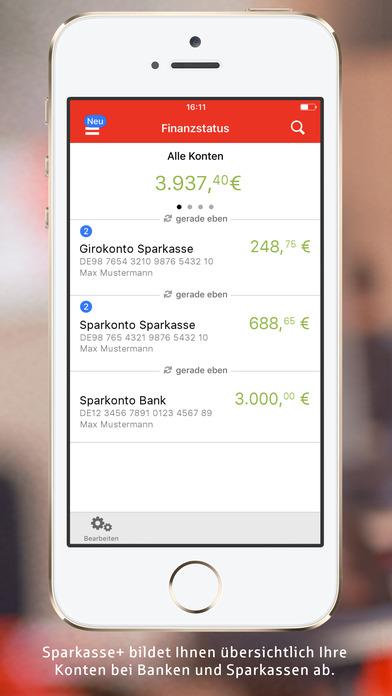 Sparkasse+   Alle Finanzen mobil im Griff Screenshot