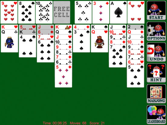 Freecell Solitaire! Full Screenshots