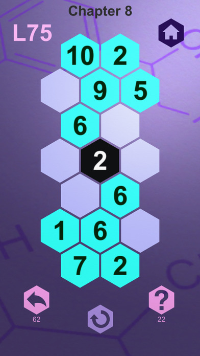 The Melding - A Number Logic Puzzle iOS Screenshots