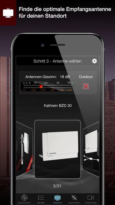 DVB-T2 Finder - Empfangscheck in 15 Sekunden Screenshots