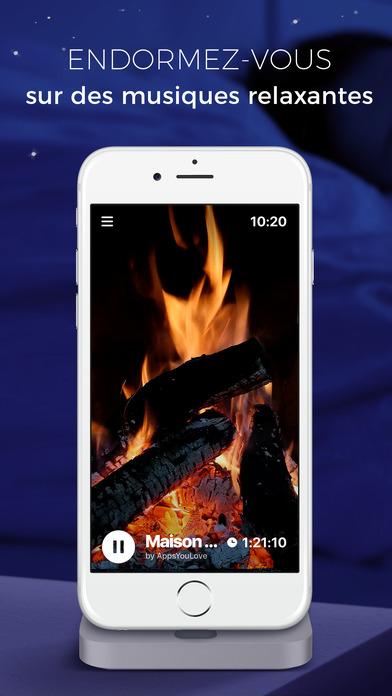 Miniteur musique relaxante pour bien dormir dans l app store - Application pour bien dormir ...