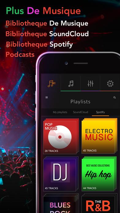 Screenshot Égaliseur PRO lecteur musical et booster de volume