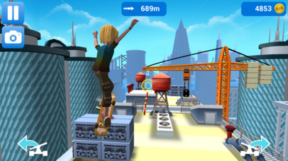 Faily Skater iOS Screenshots