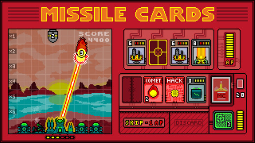 Missile Cards Screenshots