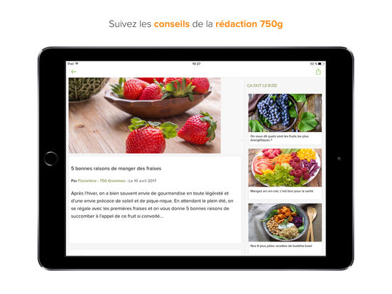 750 grammes 80 000 recettes de cuisine dans l app store for 750grammes com fiche de cuisine