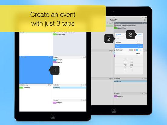 Easy Calendar for iPad Screenshots