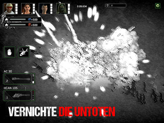 Screenshot 3 Zombie Gunship Survival