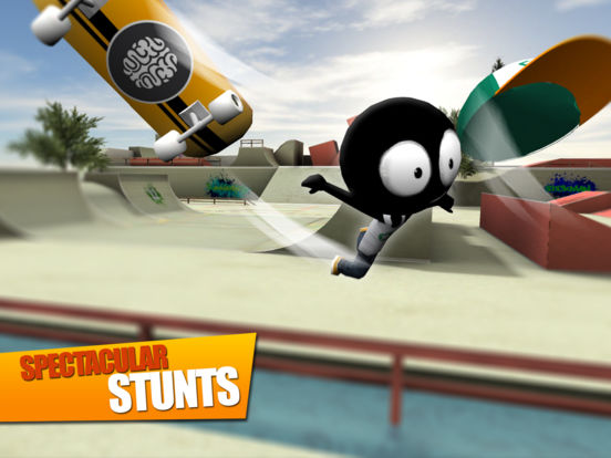 Screenshot 5 Stickman Skate Battle