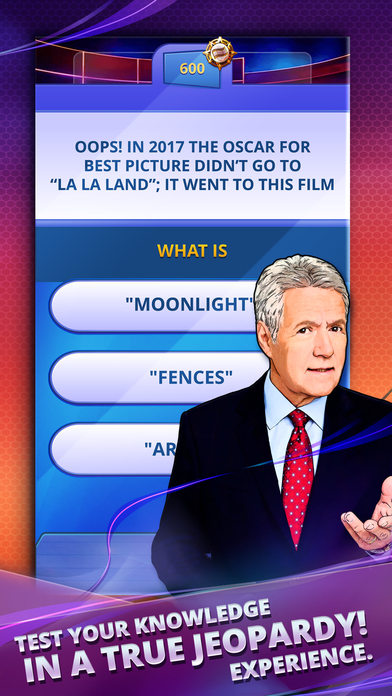 Jeopardy! World Tour iOS Screenshots