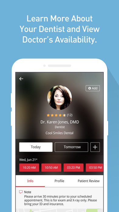 download EarlierCare: On Demand Dental Appointment appstore review