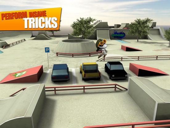 Screenshot 2 Stickman Skate Battle