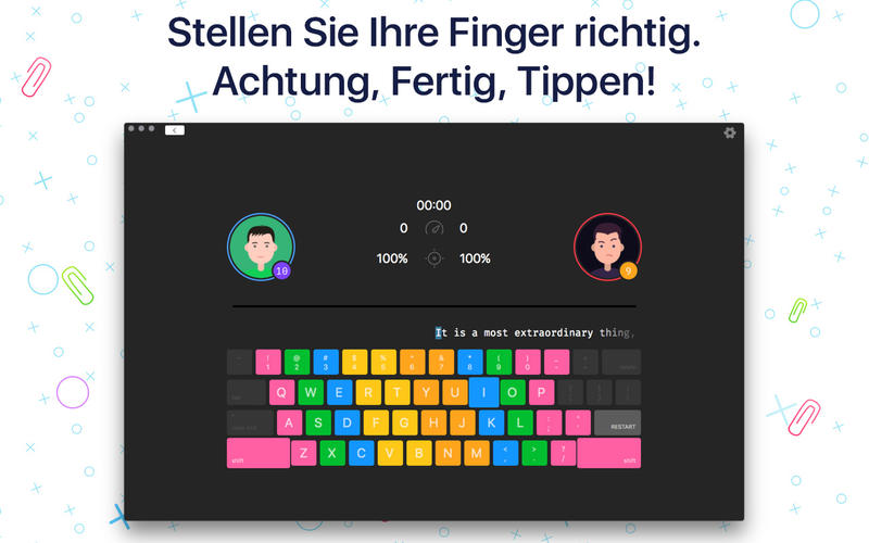Master of Typing 2 - Schnellrennen Screenshot