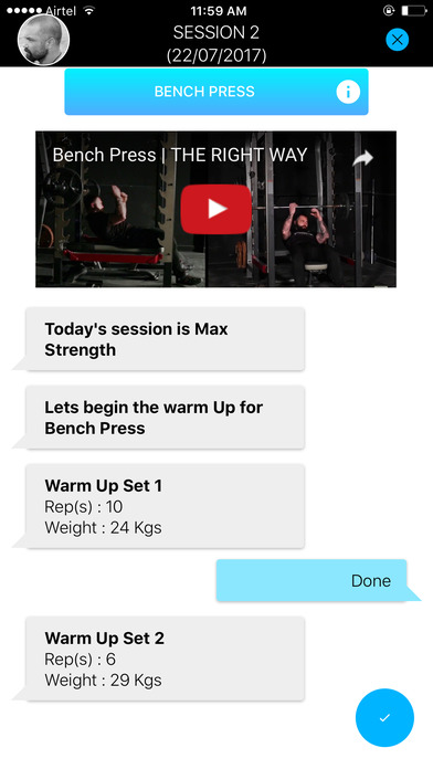 download StratFit Strength Coach appstore review