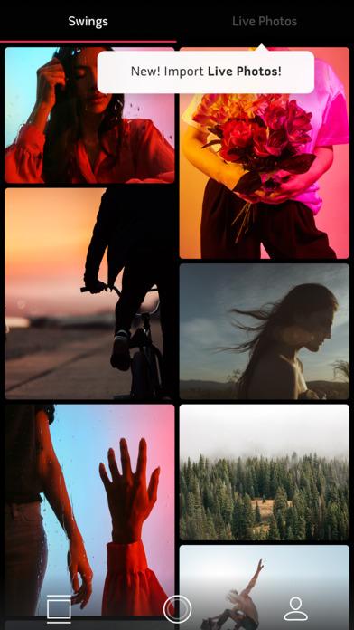 Swing by Polaroid Screenshot