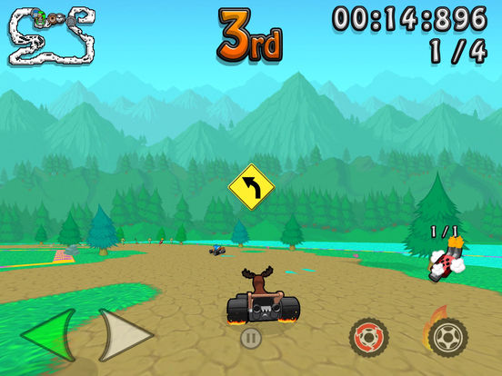 Wacky Wheels HD Screenshots