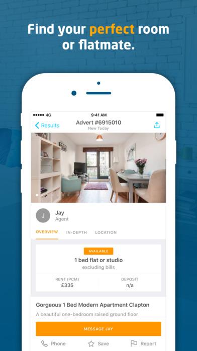 download SpareRoom appstore review