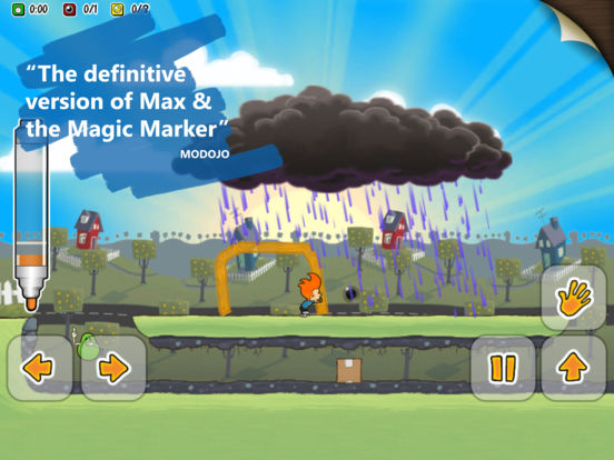 Screenshot 1 Max & the Magic Marker - Remastered
