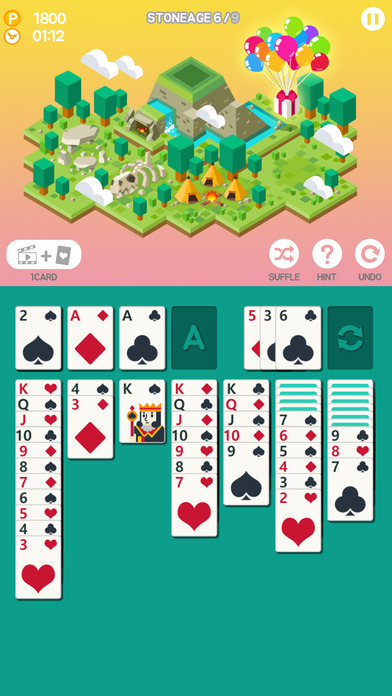 Age Of Solitaire City Building Card Game On The App Store