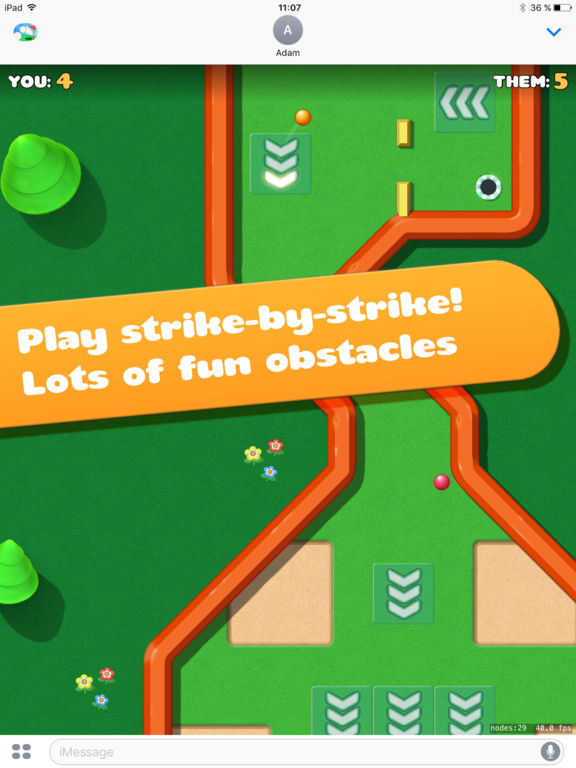 Screenshot 3 Mini Golf Battle