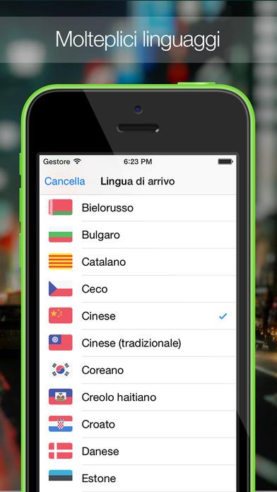 Traduttore sull 39 app store for Traduttore apple