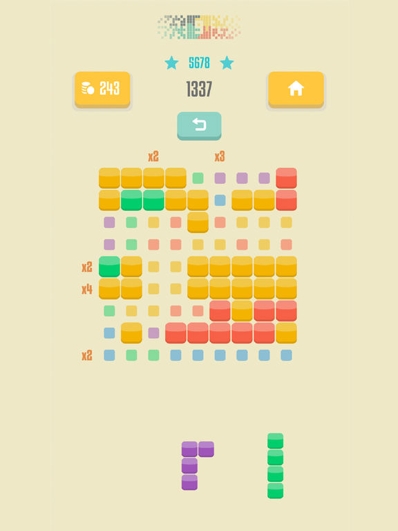 Screenshot 4 9squared! - Stack and match colored blocks puzzle