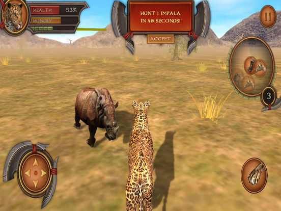 3D Leopard Simulation Premium Screenshots